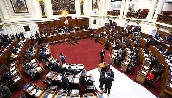 El pleno del Congreso de la República aprobó hoy la ley que busca desincentivar el transfuguismo en el Parlamento. (Foto: Congreso)