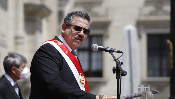 El congresista Manuel Merino asumió la Presidencia, tras la vacancia a Martín Vizcarra, por cinco días. Renunció ante las protestas ciudadanas en contra de su administración. (Foto: Presidencia de la República)