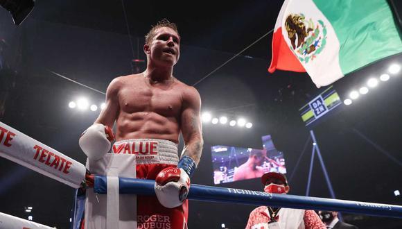 'Canelo' Álvarez volvería a pelear en febrero del 2021. (Foto: EFE)