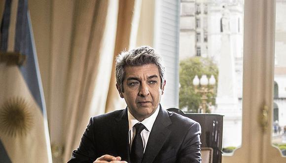 """En el 'thriller' """"La cordillera"""", Ricardo Darín interpreta nada menos que al presidente de Argentina."""