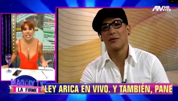 Magaly Medina se refiera a la salida de 'Zorro Zupe' de Latina. (Foto: Captura ATV)