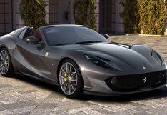 El nuevo Ferrari 812 GTS es el descapotable más potente del mundo   FOTOS
