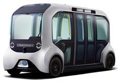 Así serán los Toyota e-Palette automatizados que transportarán a los atletas en Tokio 2020