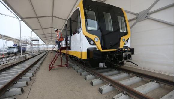 El tren de cercanías Lima-Ica beneficiaría a casi un millón de personas y se anunció que se aprobaría a fines de este año. (Foto: Referencial/GEC)