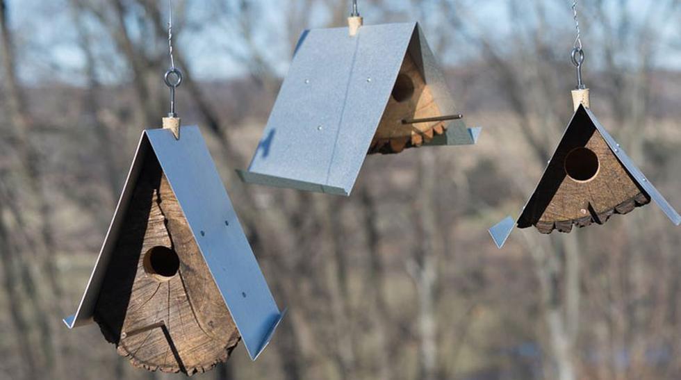Adorna tu hogar con estas originales casas para pájaros - 1