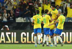 (VER EN VIVO) Brasil vs. Corea del Sur EN VIVO ONLINE vía Globo y SporTV: scracth golea 3-0 por amistoso FIFA en Abu Dabi