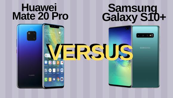 El Comercio ha enfrentado al Mate 20 Plus de Huawei y al Galaxy S10 Plus de Samsung, los dos smartphones más modernos que se encuentran en el mercado peruano. (El Comercio)