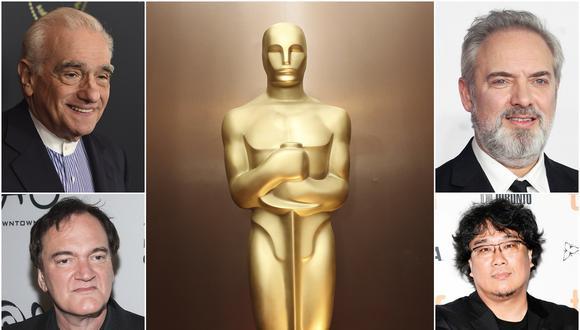 Martn Scorsese, Quentin Tarantino, Sam Mendes y Bong Joon-ho pelearán por el máximo honor en los Director's Guild Awards este 26 de enero. (Foto: Agencias)