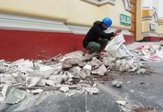 Sismo en Sullana: fuerte movimiento telúrico afectó la Catedral de Piura   VIDEO
