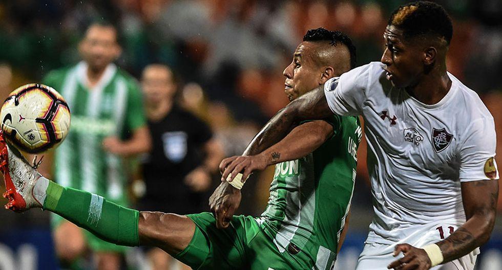 Fluminense perdió 1-0, pero clasificó a octavos de final de la Copa Sudamericana.