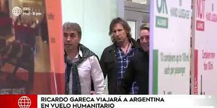Ricardo Gareca sale del país en vuelo humanitario