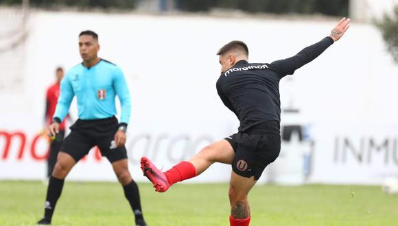 Universitario de Deportes venció 3-2 a Sport Boys este sábado. (Foto: @Universitario)