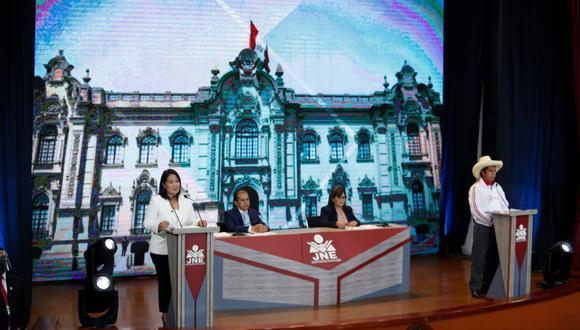 El último debate presidencial de cara a la segunda vuelta fue realizado en la Universidad Nacional de San Agustín, en Arequipa. (Foto: Hugo Pérez / GEC)