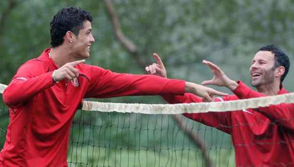 Ryan Giggs expresa su admiración hacia Cristiano Ronaldo