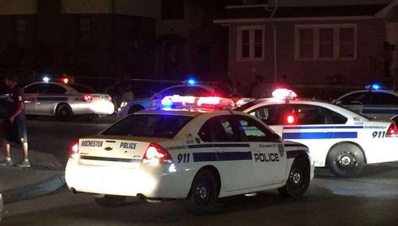 Tiroteo en Rochester, Estados Unidos, deja al menos dos muertos y 14 heridos en una fiesta. (Foto: AP).