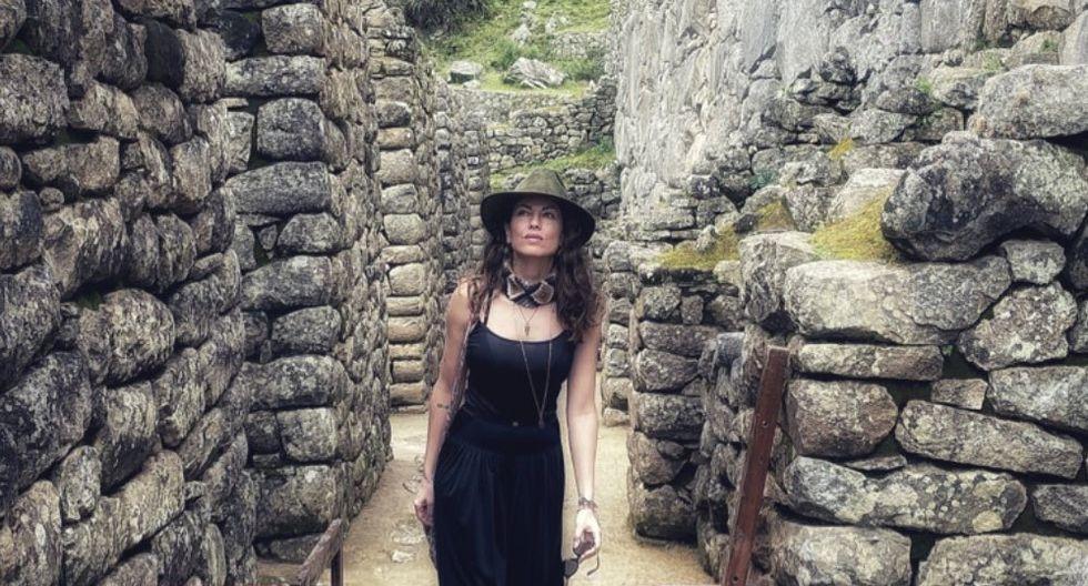 Bárbara Mori en Machu Picchu. (Foto: Instagram)
