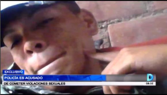 Al parecer, desde los 18 años habría iniciado sus actos delictivos. (Video: América TV)