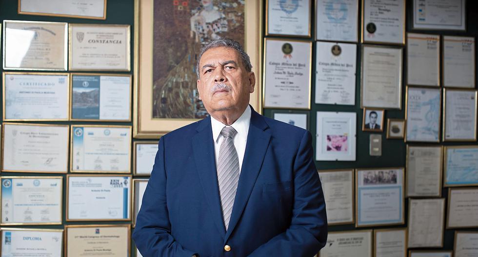 Eduardo Gotuzzo Herencia es un reconocido investigador en enfermedades como la tuberculosis y el VIH. (Foto: César Campos)