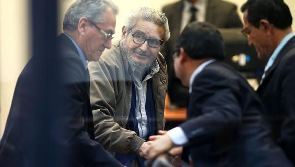 El Ministerio Público ha solicitado la cadena perpetua para los integrantes de la cúpula de Sendero Luminoso, encabezada por el terrorista Abimael Guzmán. (Foto: EFE)