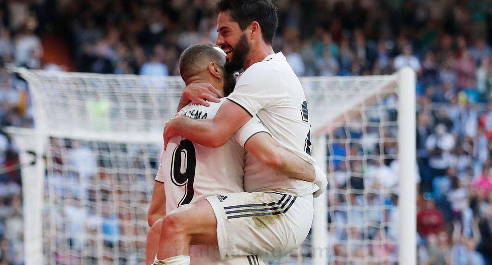 Real Madrid vs. Celta: Isco anotó el 1-0 en el regreso de Zidane tras gran jugada colectiva. (Foto: web Real Madrid)