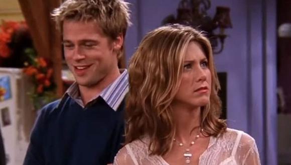 "Brad Pitt y Jennifer Aniston trabajaron en la serie ""Friends"". (Foto: Captura NBC)"