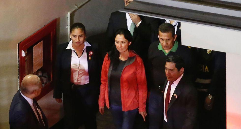 Ollanta Humala y Nadine Heredia cumplen prisión preventiva desde mediados del año pasado. (Foto: AFP)