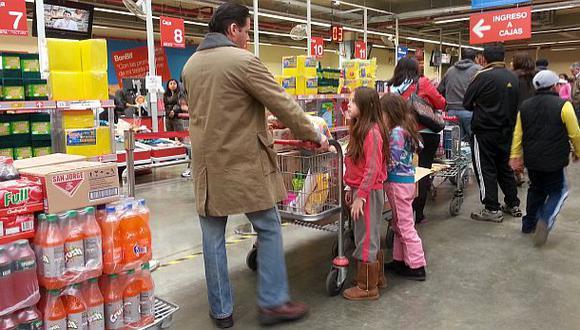 Las ventas de supermercados aumentarán 9% durante el 2014
