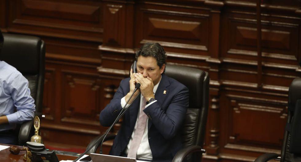 El Congreso tuvo una ajetreada sesión del pleno en su último día de legislatura. (Foto: Mario Zapata / GEC)