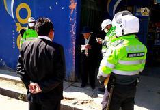 Junín: tres personas fueron detenidas en Huancayo cuando organizaban una fiesta patronal