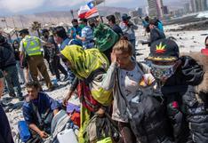 Opositor lamenta el desalojo de campamento de migrantes venezolanos en Chile