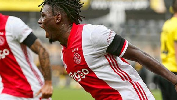 Lassina Traoré firmó cinco goles en el triunfo de Ajax sobre VVV-Venlo. (Foto: Ajax)