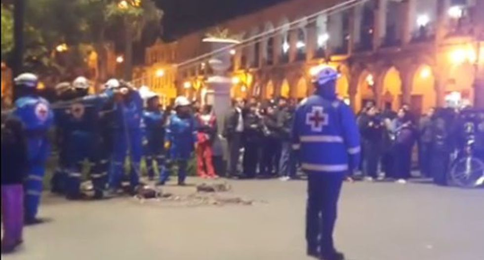 Arequipa: así se vivió el simulacro nocturno de sismo [VIDEO]