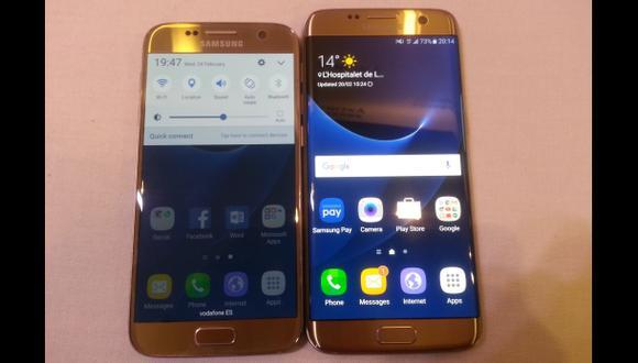 MWC 2016: Así son el Galaxy S7 y el Galaxy S7 Edge [VIDEO]