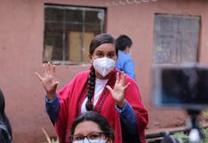 Verónika Mendoza invoca a los peruanos que acudan a votar
