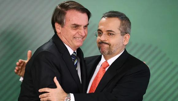 Abraham Weintraub anunció este jueves su renuncia al cargo de ministro de Educación de Jair Bolsonaro. (Foto: AFP)