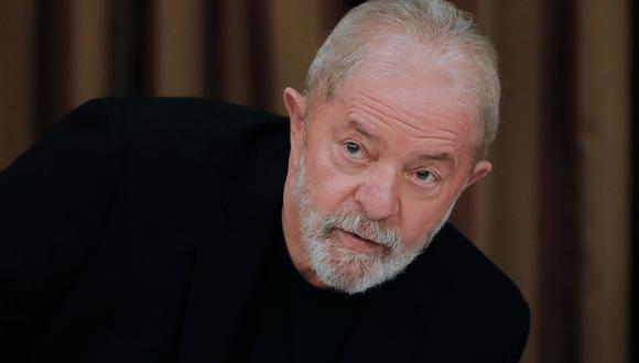 El expresidente de Brasil, Lula da Silva. AFP