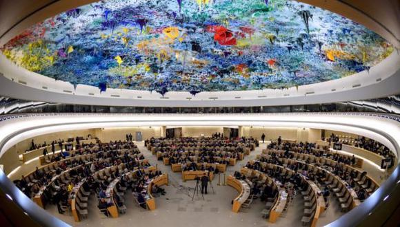 El Consejo de Derechos Humanos de la ONU, con sede en Ginebra (Suiza), está formado por 47 Estados miembros.