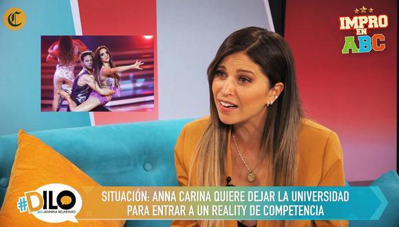 Anna Carina juega Impro en ABC en #Dilo