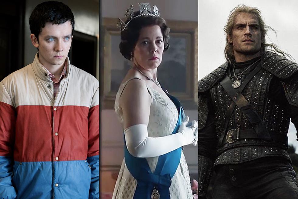 """""""Sex Education"""", """"The Crown"""" y """"The Witcher"""" podrán continuar con la grabación de sus próximas temporadas. (Foto: Difusión)"""