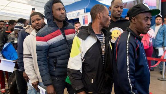 Chile es el destino elegido por muchos emigrantes haitianos. (GETTY IMAGES).