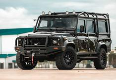 Land Rover Defender: convierten al todoterreno en un eléctrico con motor de Tesla   FOTOS