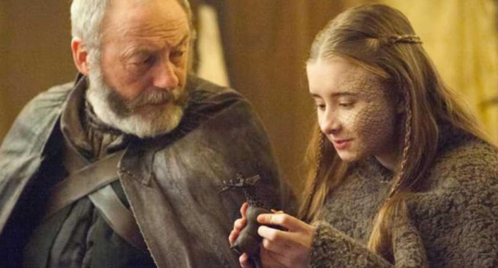 """En """"Game of Thrones"""", Ned Stark es muy claro al destacar que todos los de sangre Baratheon tienen el cabello oscuro. Shireen era casi tan rubia como un Lannister. (Fuente: Captura de pantalla)"""