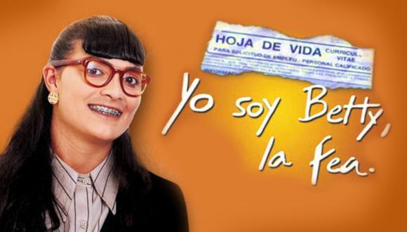 Yo soy Betty, la fea, o simplemente Betty, la fea, es una telenovela colombiana, creada por RCN Televisión y escrita por Fernando Gaitán, ganadora del Guinness Records 2010. Se estrenó el 25 de octubre de 1999 y finalizó el 8 de mayo de 2001.   Crédito: RCN / Composición