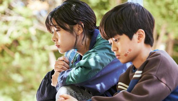 """La supermodelo HoYeon Jung es una de las protagonistas de """"El juego del calamar"""". Foto: Netflix"""