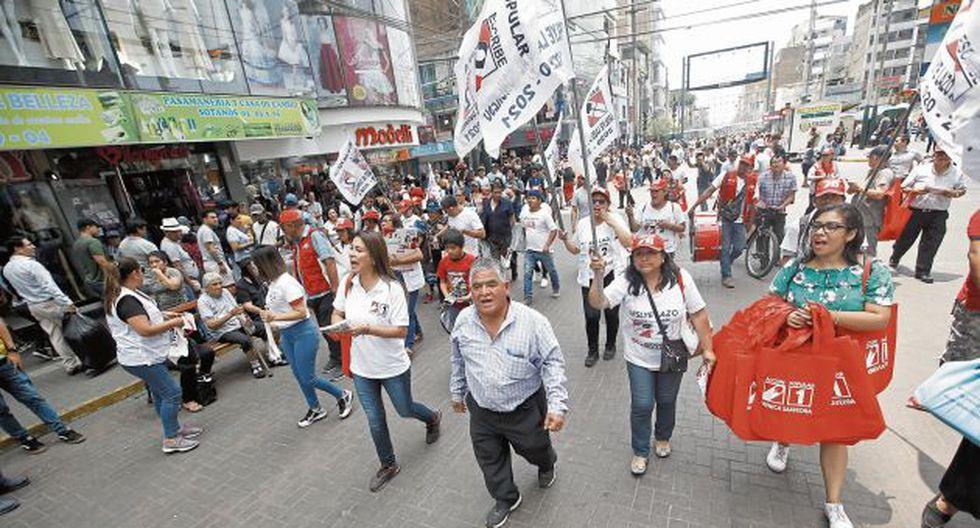 Dos candidatos de Acción Popular son cercanos a alcaldes distritales. (GEC)