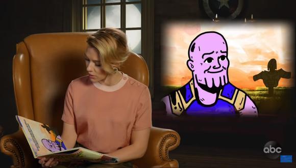 """Avengers: Endgame"": elenco lee la versión ""infantil"" de ""Infinity War""(Foto: Captura de pantalla)"