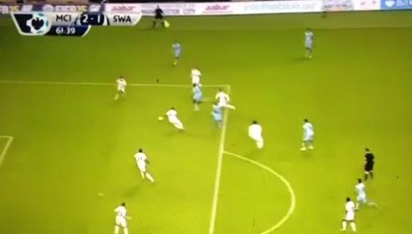 Manchester City: Yaya Touré y un golazo tras un taco [VIDEO]