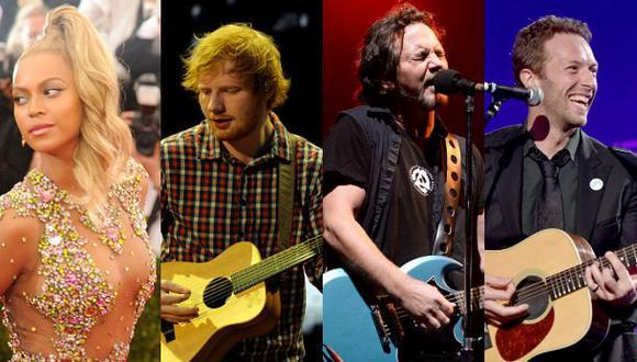 YouTube transmitirá concierto de Beyoncé y Ed Sheeran en vivo