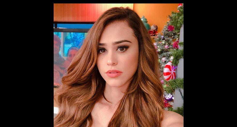 La presentadora Yanet García subió un singular video a Instagram. (@iamyanetgarcia)