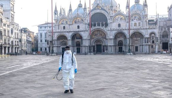 Sin gente, Venecia no parece Venecia. (Foto: Getty Images)